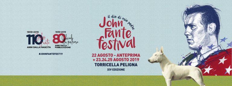 JOHN FANTE FESTIVAL 2019. L'AMERICA A TORRICELLA PELIGNA
